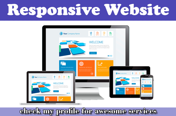 create fully responsive website