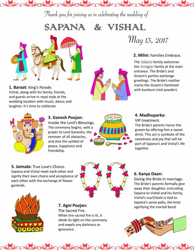 design beautiful indian hindu and sikh wedding invites