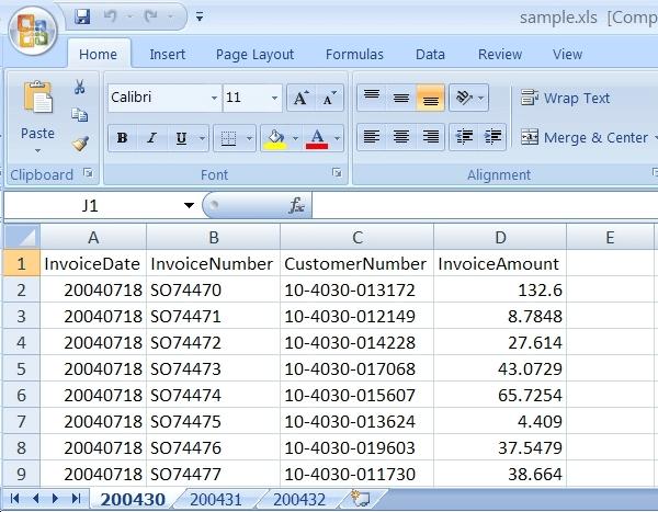 create Excel spreadsheet , PDF to Excel , Formulas calculation
