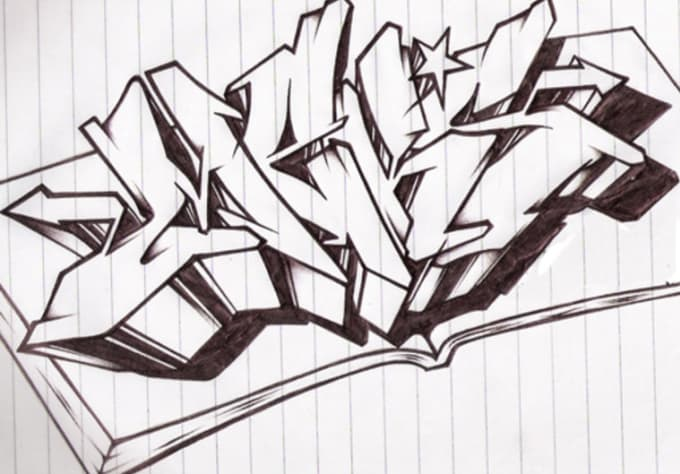 write whatever you want in wildstyle graffiti lettersw1d30n3