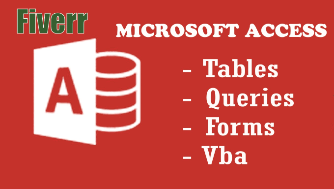 create microsoft access databases