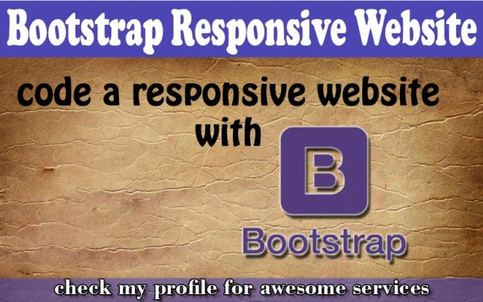 convert image or PSD to bootstrap responsive page