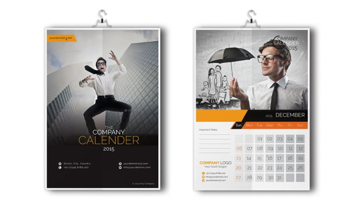 Calendar Design Maker : Make a professional calendar design by vicasso