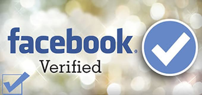 help get blue checkmark verification on Facebook