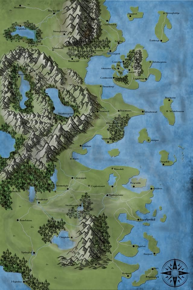Create Dnd, Pathfinder Maps Over World, City, Town, Or Dungeon Maps