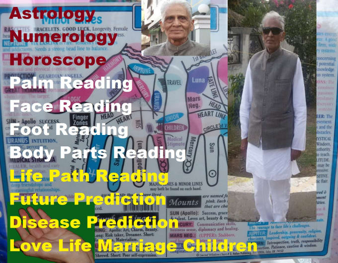 medmantra0com : I will palmistry Astrology Numerology Face Foot Body Life  Future Reading Prediction for $15 on www fiverr com