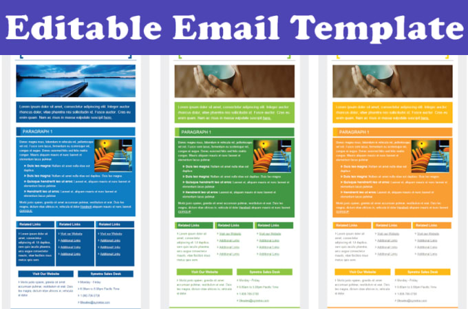 Create Responsive Html Email Template By Saleemwebs - Create html email template