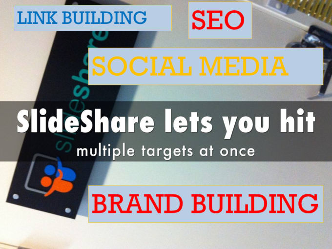 create an seo optimized slideshare account by pittis