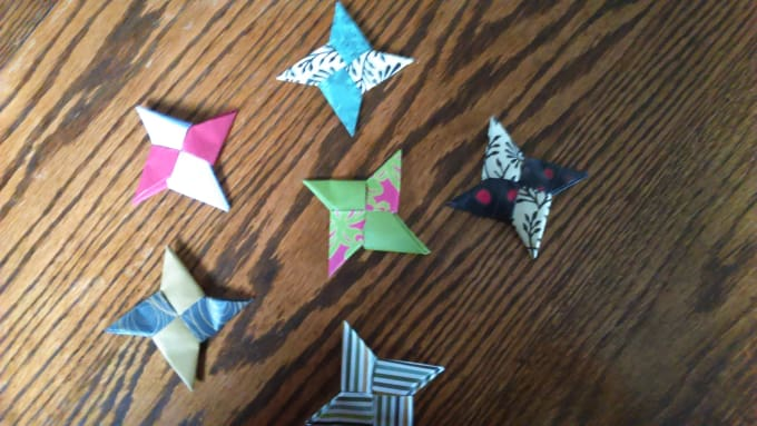 Give You Ten To Fourty Handmade Origami Ninja Stars By Laurendrake