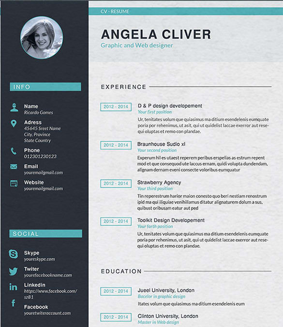 write perfect attractive resumes and cover letters by imdaadali798