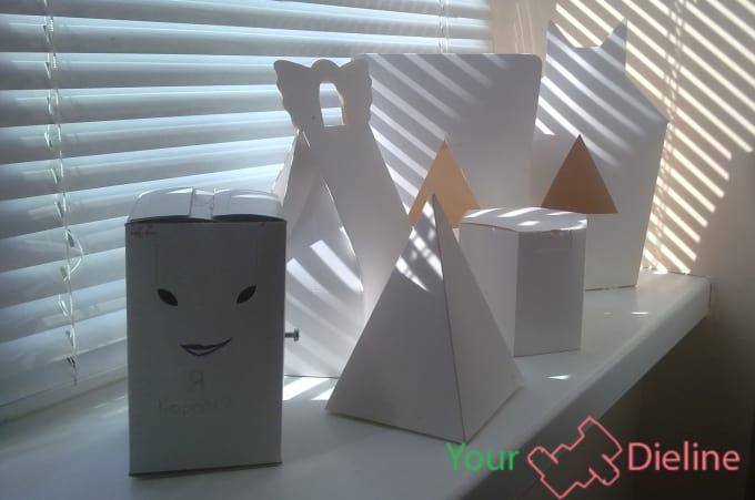 make custom box dieline cut line template fefco in artioscad