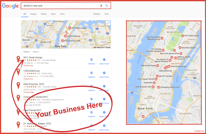 Create Local Google Map Citations For Local Seo