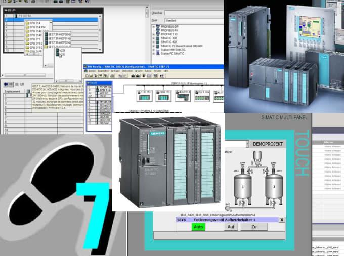 program Siemens step7 PLC