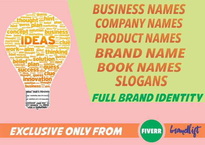 create the best business name, company name or brand name