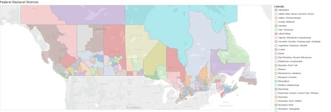 Do a heat map of canada in tableau by Frankzk