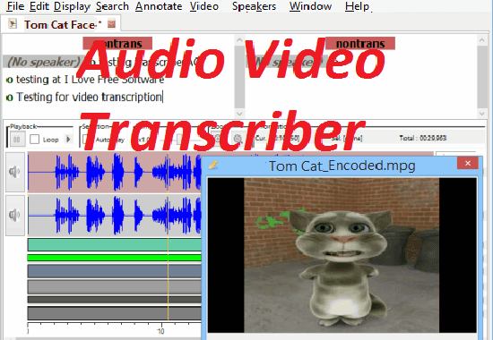 be your transcriptionist for audio video talks