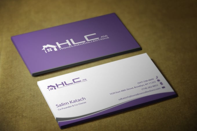make professional business card and facebook cover banner by