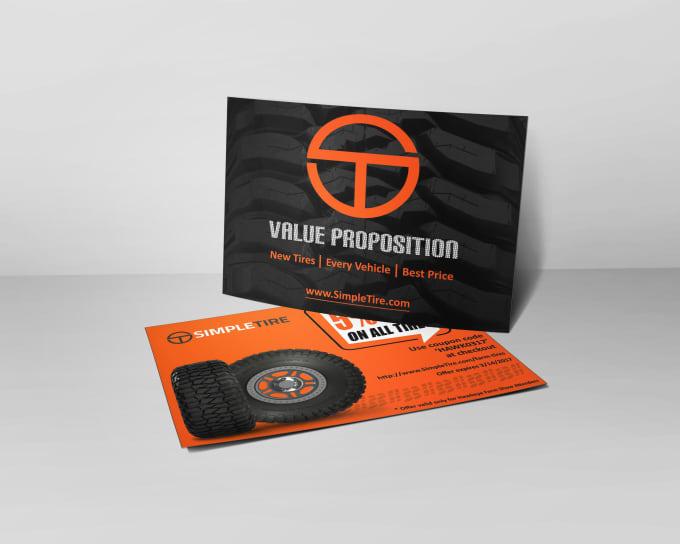 design elegant and eye catching post card