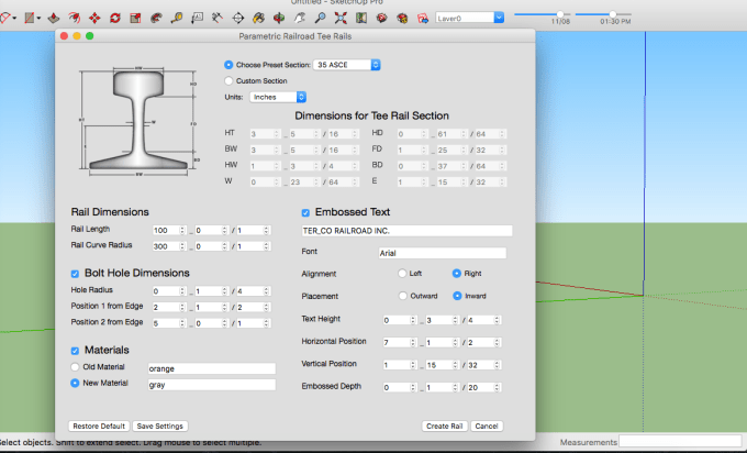 create a Sketchup plugin for your specific need