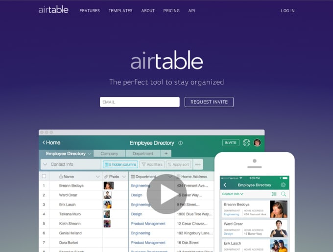 be your airtable consultant for setting up database, forms and workflows