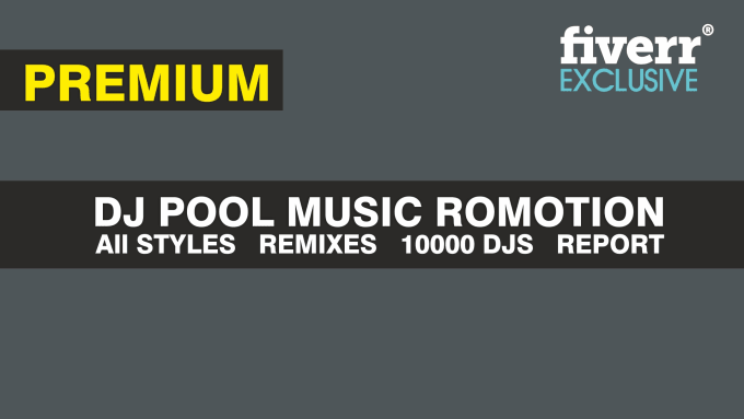 promote your music in dj pool services