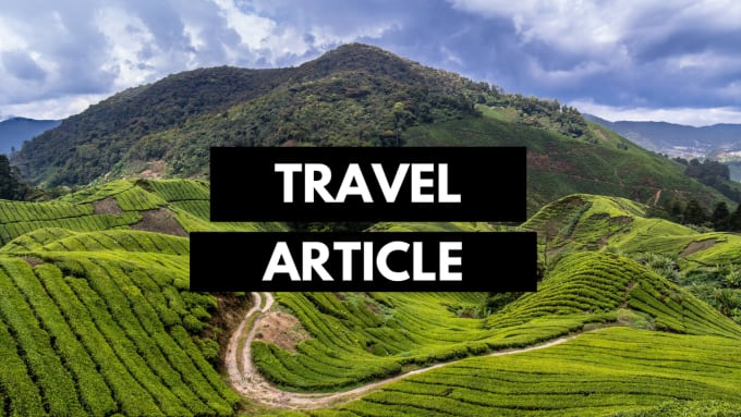 write 800 word travel article