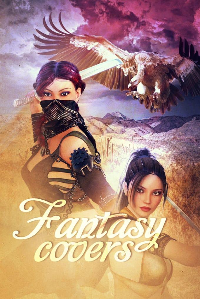 create beautiful fantasy ebook covers fiverr exclusive