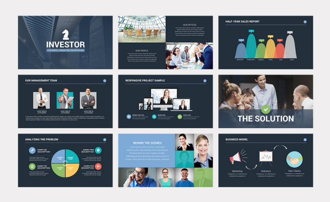create a professional powerpoint presentation by emma perry