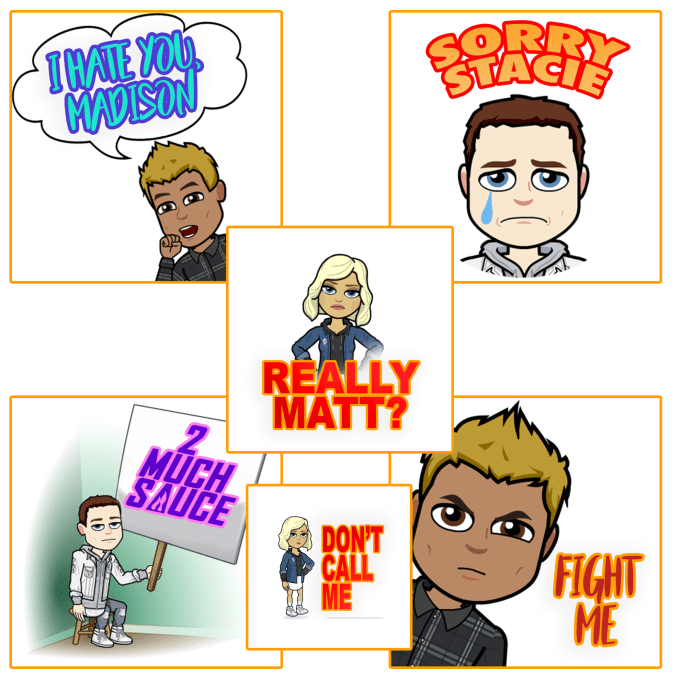 create a custom bitmoji personally for you
