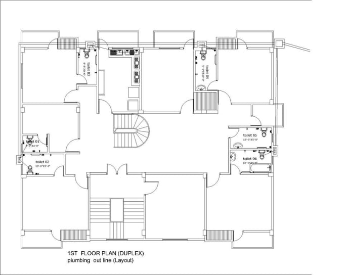 Design Your Architectural 2d Floor Plan In Autocad 3d In
