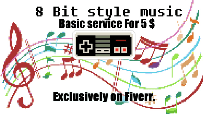 do any song in 8 bit retro video game style