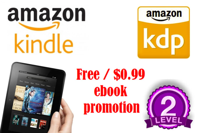 promotebooks : I will promote your free kindle book on 50 best FB readers  groups for $5 on www fiverr com