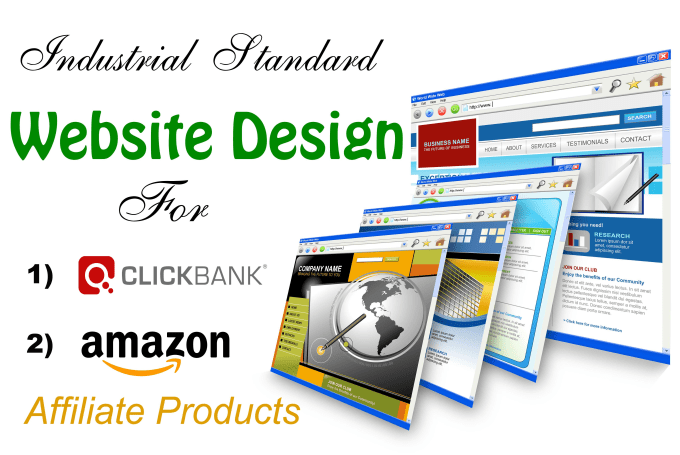 do clickbank or amazon affiliate website to promote 20 products