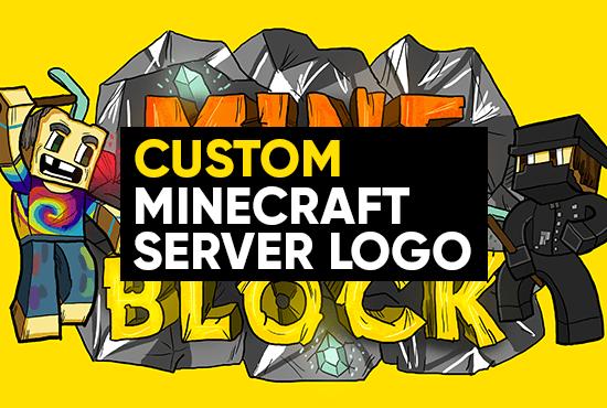 create your Minecraft server logo