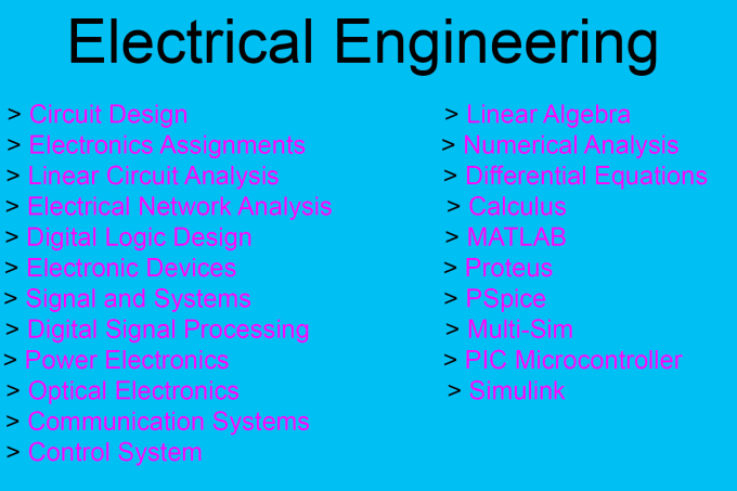 assist electrical engineering and circuit design