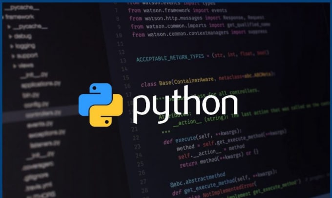write python programming language codes