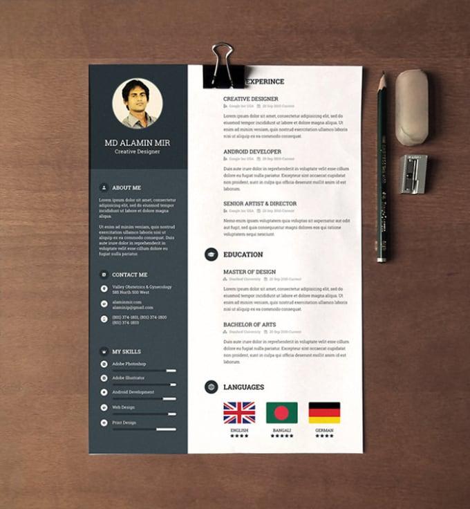 Do Professional Resume Design Cover Letter Cv Design By Ardis A