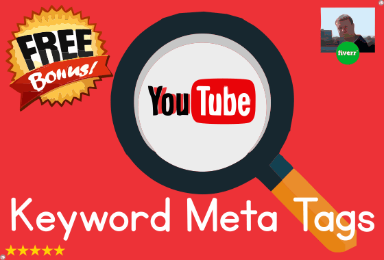 thomas_howard : I will provide you with 20 keyword tags to boost YouTube  video rank for $5 on www fiverr com