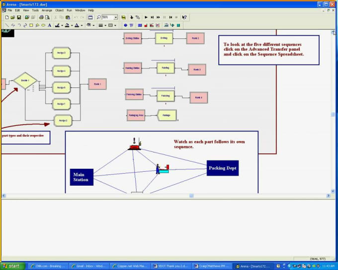 arena assembly line and model Modeling and simulation of automotive engine sub-assembly for assembly line the arena sub-assembly model illustrates the process flow through the modeling.