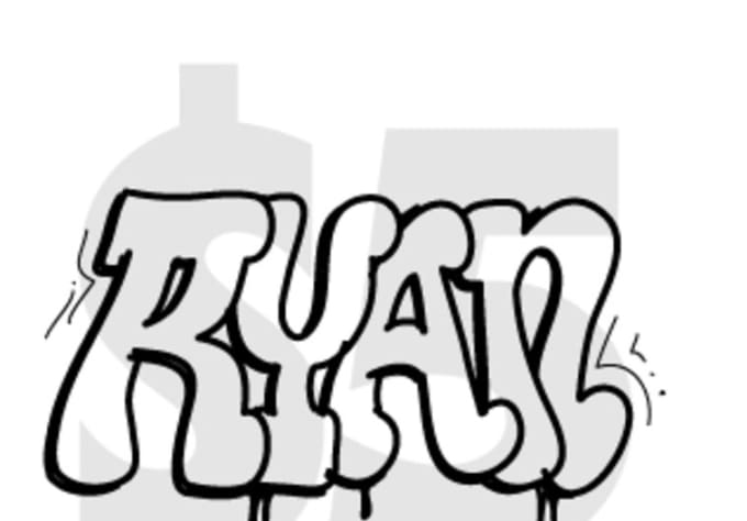 Draw Custom Graffiti With The Word Of Your Choice