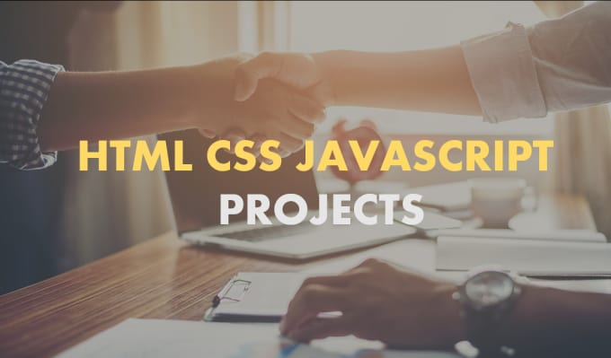 develop html css projects