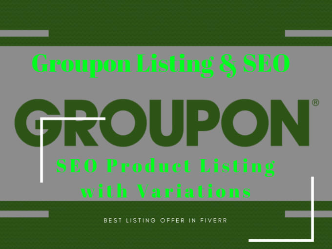 groupon from fiverr