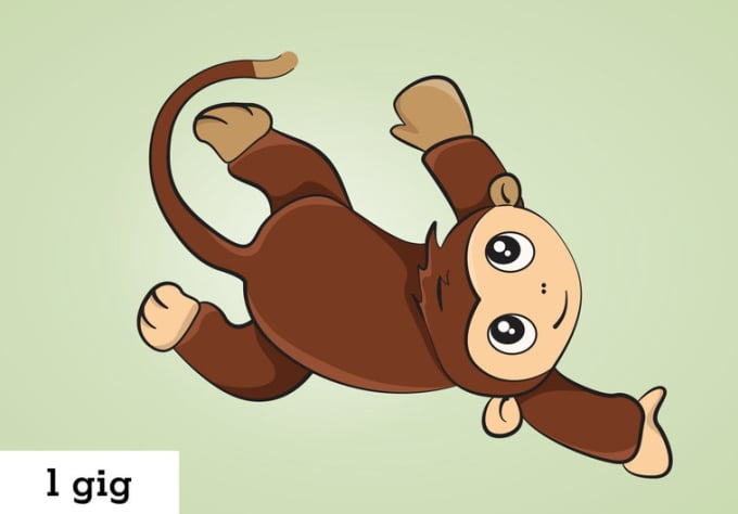 Create Any Animal Or Object As A Cute Cartoon Character By