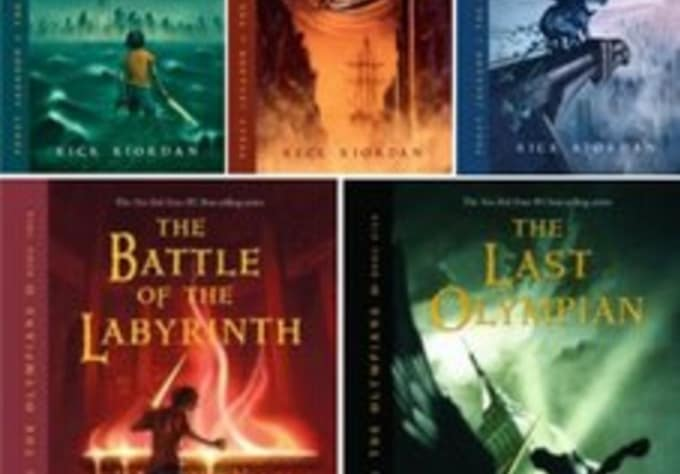 send percy jackson and the olympians 1 to 5 ebook pdf collection by