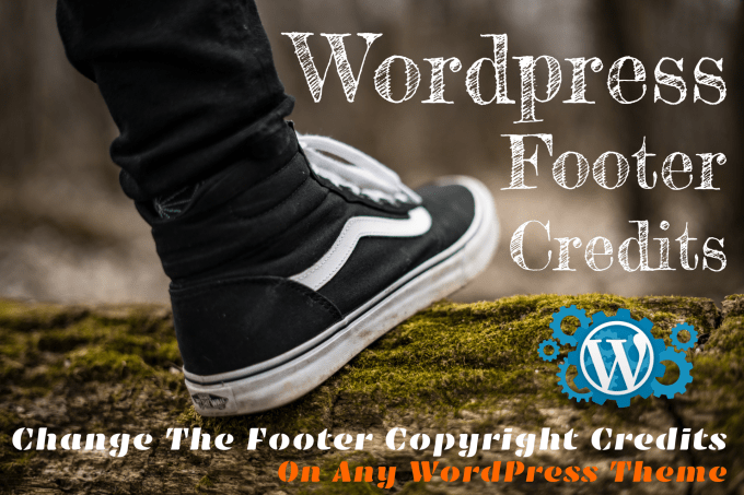 voxelart : I will custom your wordpress footer copyright credits on any  theme for $10 on www fiverr com