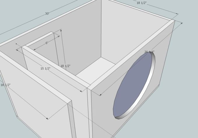 thumps : I will make you a custom competition subwoofer enclosure design  for $5 on www fiverr com