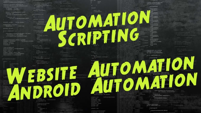vishalkrtr : I will write any automation script for you for $10 on  www fiverr com