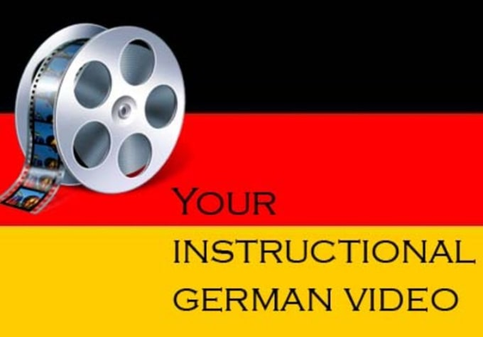 Record A 5 Minute Instructional Video On Any German Grammar Question