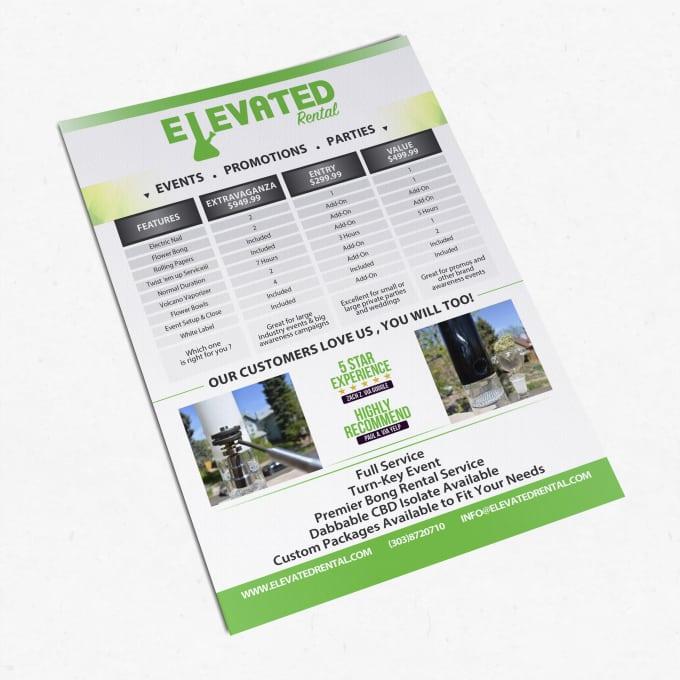 event promotion flyer