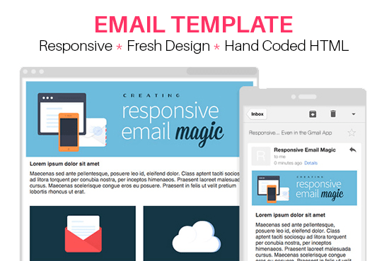 Make Responsive Email Template For Your Business Campaign By